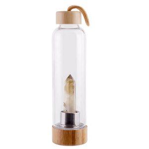 bamboo crystal bottle water big diamond 2